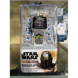 STAR WARS MANDALORIAN INTERACTIVE WATCH