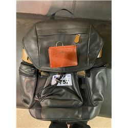COACH BACKPACK & CARD HOLDER