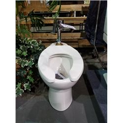 AMERICAN STANDARD TOILET WITH DELTA PLUMBING FIXTURE (NEVER INSTALLED)