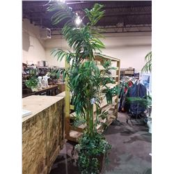 "ARTIFICIAL DECORATIVE TREE 92""H"