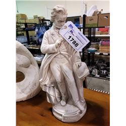"BEETHOVEN STATUE 23"" IN HEIGHT"