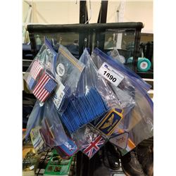 LOT OF ASSORTED SET DEC PATCHES