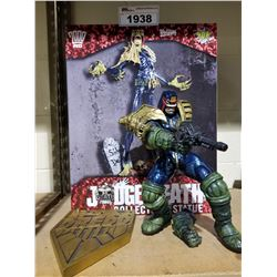 JUDGE DEATH COLLECTABLE STATUE *BROKEN ARM*
