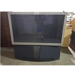 SONY LARGE REAR PROJECTION TV
