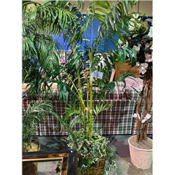"ARTIFICIAL DECORATIVE FLORAL TREE 80""H"