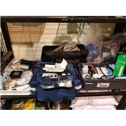 LARGE LOT OF FIRST AID KITS & SUPPLY