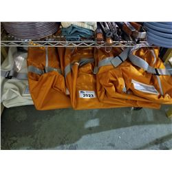 4 LARGE SIZED DUFFLE BAGS