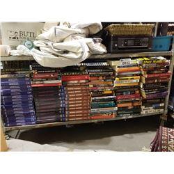 SHELF LOT OF ASSORTED BOOKS