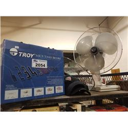 TROY MICR TONER SECURE, 3 HATS & FAN