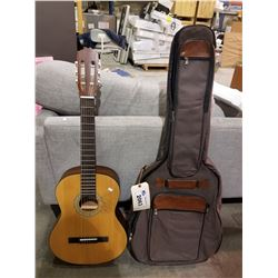 DENVER ACOUSTIC GUITAR MODEL DC44N-NAT & CASE