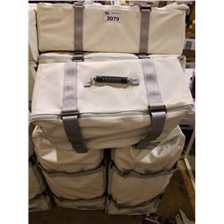 APPROX 7 DUFFLE BAGS (SET DEC)