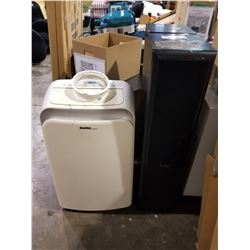 2 PRO-LINER TOWER SPEAKERS & DANBY AIR CONDITIONER
