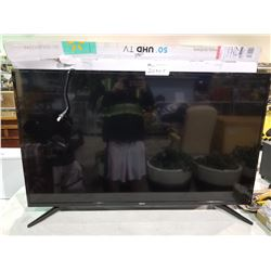 "SEIKI 50"" UHD TV MODEL SC-50US820N (NO POWER CORD/NO REMOTE)"