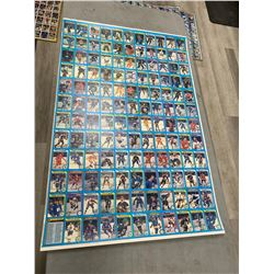 3 UNCUT SHEETS OF 1979-1980 O-PEE-CHEE HOCKEY CARDS INCLUDING WAYNE GRETZKY ROOKIE CARD