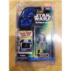 STAR WARS THE POWER OF THE FORCE CAPTAIN PIETT FREEZE FRAME FIGURE