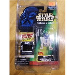 STAR WARS THE POWER OF THE FORCE R2-D2 FREEZE FRAME FIGURE