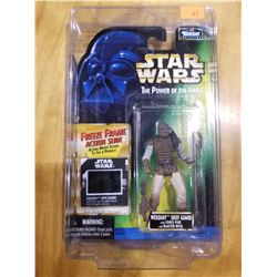 STAR WARS THE POWER OF THE FORCE WEEQUAY SKIFF GUARD FREEZE FRAME FIGURE