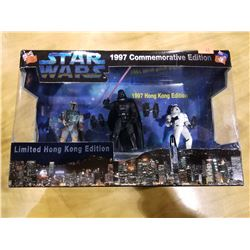 STAR WARS LIMITED HONG KONG EDITION 1997 COMMEMORATIVE EDITION FIGURES