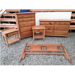 101 - Bedroom Set- Lowboy