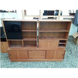 106 - Set of three Shelf Units