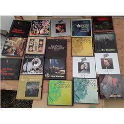 132 * Large box of Records (box Sets) 19 Sets