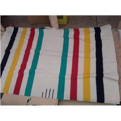 137 - Hudsons Bay Blanket Vintage England