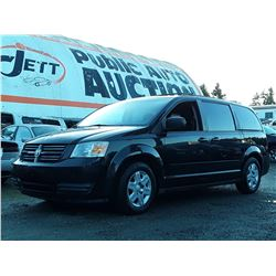 J6 --  2008 DODGE GRAND CARAVAN SE , Black , 253490  KM's