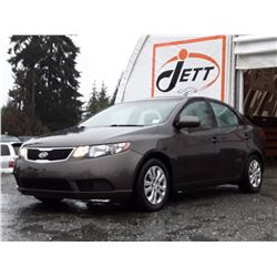 K1 --  2011 KIA FORTE LX  , Brown , 150248  KM's