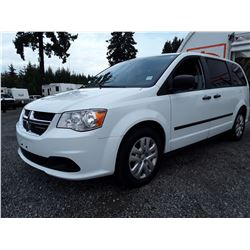 M3 --  2015 DODGE GRAND CARAVAN SE , White , 142346  KM's