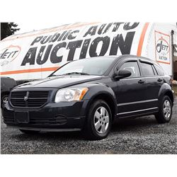 I3 --  2007 DODGE CALIBER , Grey , 194108  KM's