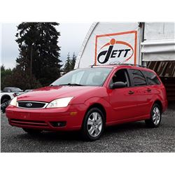 A9 --  2007 FORD FOCUS ZXW SES  , Red , 198902  KM's