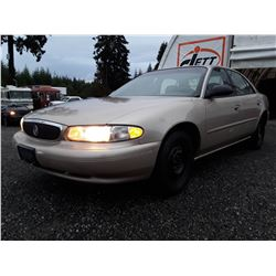 I1 --  2005 BUICK CENTURY CUSTOM  , Brown , 152409  KM's