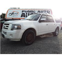 H2 --  2009 FORD EXPEDITION EL LTD  , White , 234517  KM's