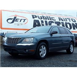 """A4 --  2005 CHRYSLER PACIFICA TOURING , Green , 204494  KM's """"NO RESERVE"""""""