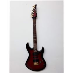 180-Red Yamaha Electric Guitar SER # Y0506