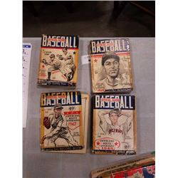 1947-1950 SPINK OFFICIAL BASEBALL GUIDES