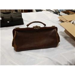 6 X 16 INCH BROWN DOCTORS BAG
