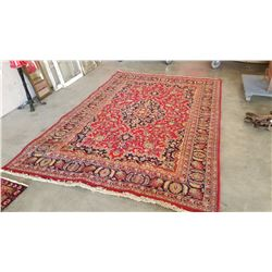 10 FOOT BY 79 INCH HAND MADE HAND DYED MADE IN INDIA CARPET