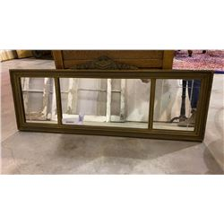 MIRROR WITH ANTIQUE FRAME
