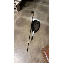 SCIENTIFIC ANGIER 9FT 6WT FLYROD, MATCHING REEL, FLOATING LINE, AND NET