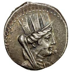 ARADOS: AR tetradrachm (15.03g), CY135 (125/4 BC), Sear-5991, Duyrat-3030, Tyche // Nike, VF