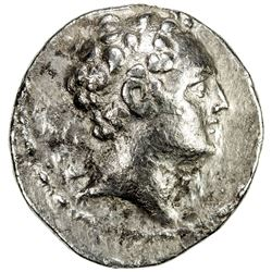 SELEUKID KINGDOM: Antiochos IV Epiphanes, 175-164 BC, AR tetradrachm (16.59g), Susa. VF