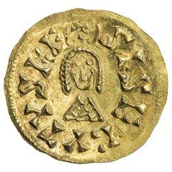 VISIGOTHS IN SPAIN: Sisebut, 612-621, AV tremissis (1.51g), Ispali (Sevilla). AU