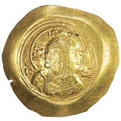 BYZANTINE EMPIRE: Michael VII Doukas, 1071-1078, AV histamenon (4.41g). VF-EF