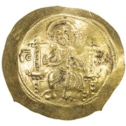 BYZANTINE EMPIRE: Michael VII Doukas, 1071-1078, AV histamenon (4.35g). EF