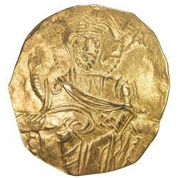 KINGDOM OF NICAEA: John III Ducas-Vatatzes, 1222-1254, AV hyperperon (3.93g). EF