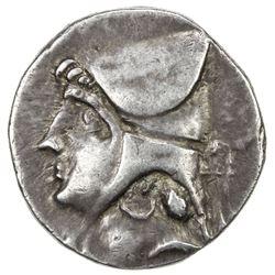 PARTHIAN KINGDOM: Arsakes II, c. 211-191 BC, AR drachm (4.11g), Rhagai. VF-EF
