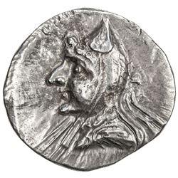 PARTHIAN KINGDOM: Phriaptios to Mithradates I, c. 185-132 BC, AR drachm (3.99g), Hekatompylos. VF-EF