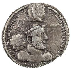 SASANIAN KINGDOM: Hormizd I, 272-273, AR obol (0.69g). VF