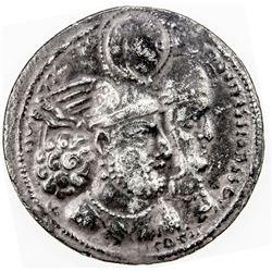 SASANIAN KINGDOM: Varhran II, 276-292, AR drachm (3.86g). VF